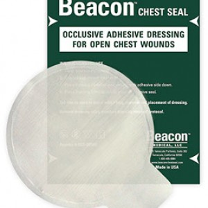 nonvented chest seal with package